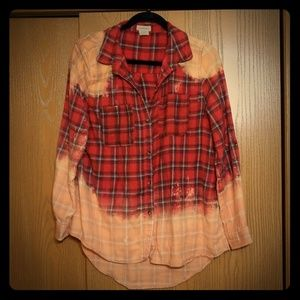 Tops - Bleached Flannel